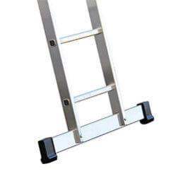 Stabilisatiebalk voor aluminium enkele ladder