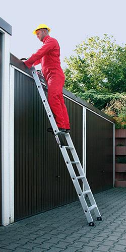 Aluminium enkele trap