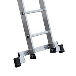 Verstelbare stabilisatiebalk voor aluminium ladders