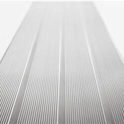 Aluminium geribbelde treden