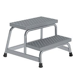Aluminium plateautrap, ponsrooster treden 51031