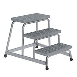 Aluminium plateautrap, ponsrooster treden 51032