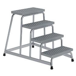 Aluminium plateautrap, ponsrooster treden 51033