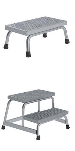 Aluminium plateautrap, ponsrooster treden