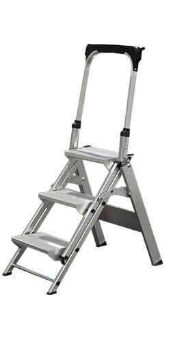 Aluminium klaptrap met steunbeugel