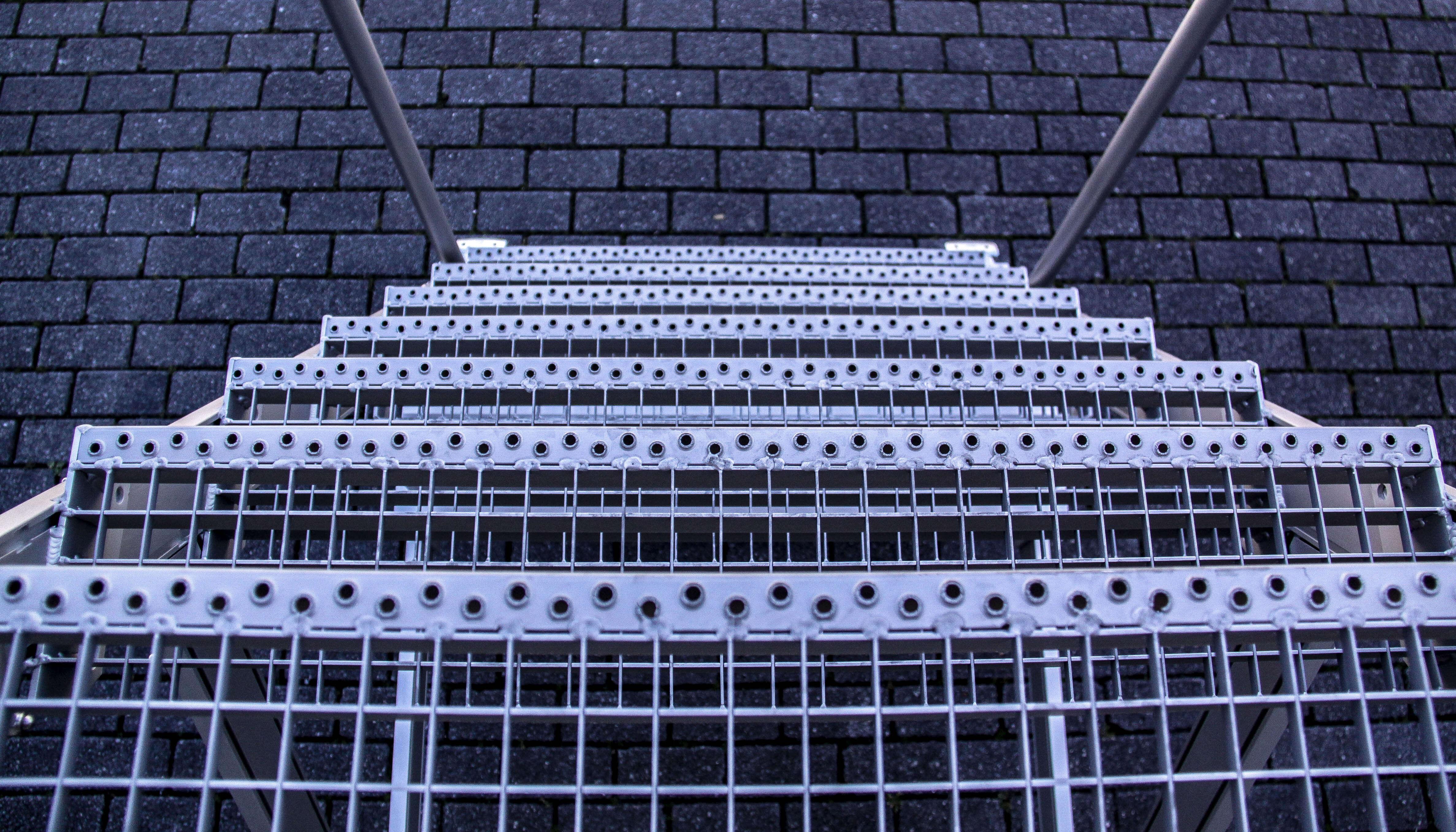 Geanodiseerd aluminium verrijdbare bordestrap