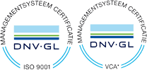 ISO 9001 & VCA logo