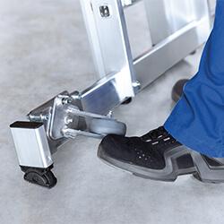 Inklapbare wielen voor stabilisatiebalk