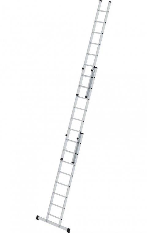 Driedelige opsteekladder, met stabilisatiebalk, 3x8, 20318