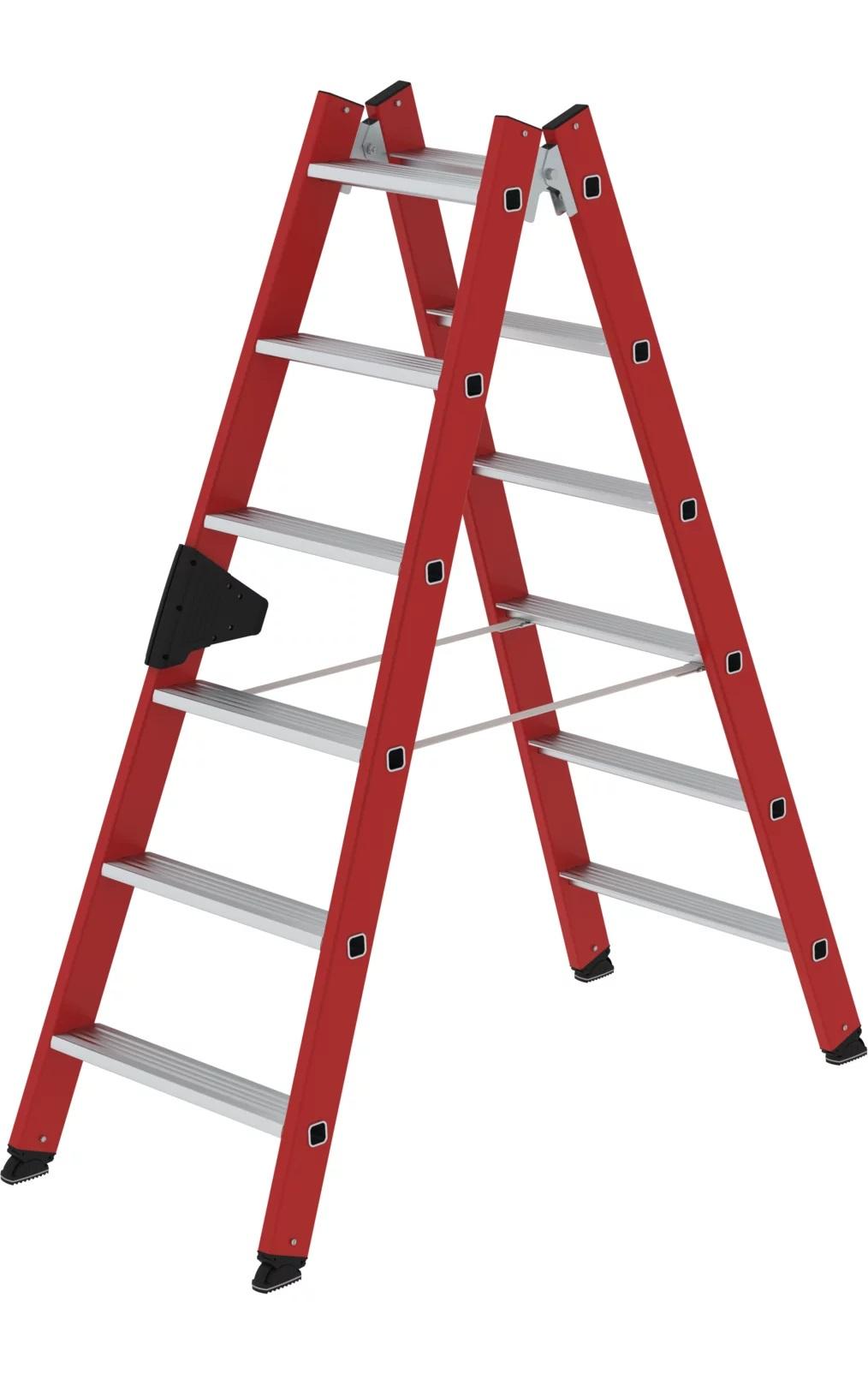 Kunststof dubbele trap, 2x6, 34112