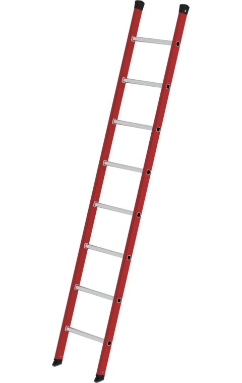 Kunststof enkele ladder, 1x8, 35008