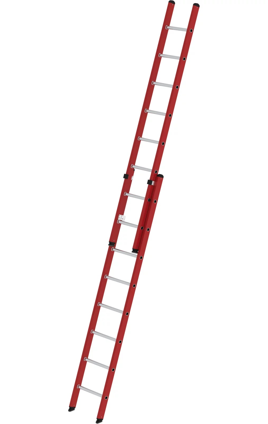 Kunststof tweedelige opsteekladder, 2x8, 35108
