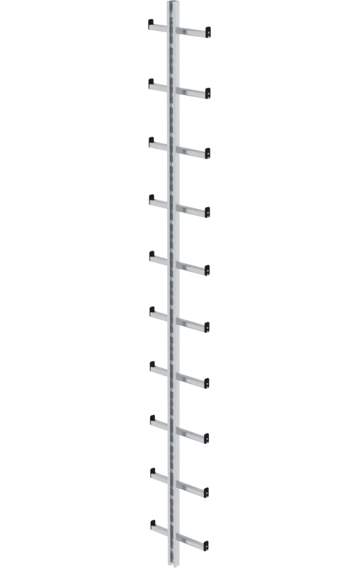 Mastladder, aluminium, 2.800mm, 77055