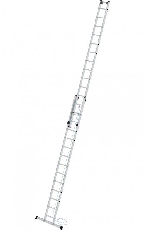 Tweedelige optrekladder, met stabilisatiebalk, 2x14, 21714
