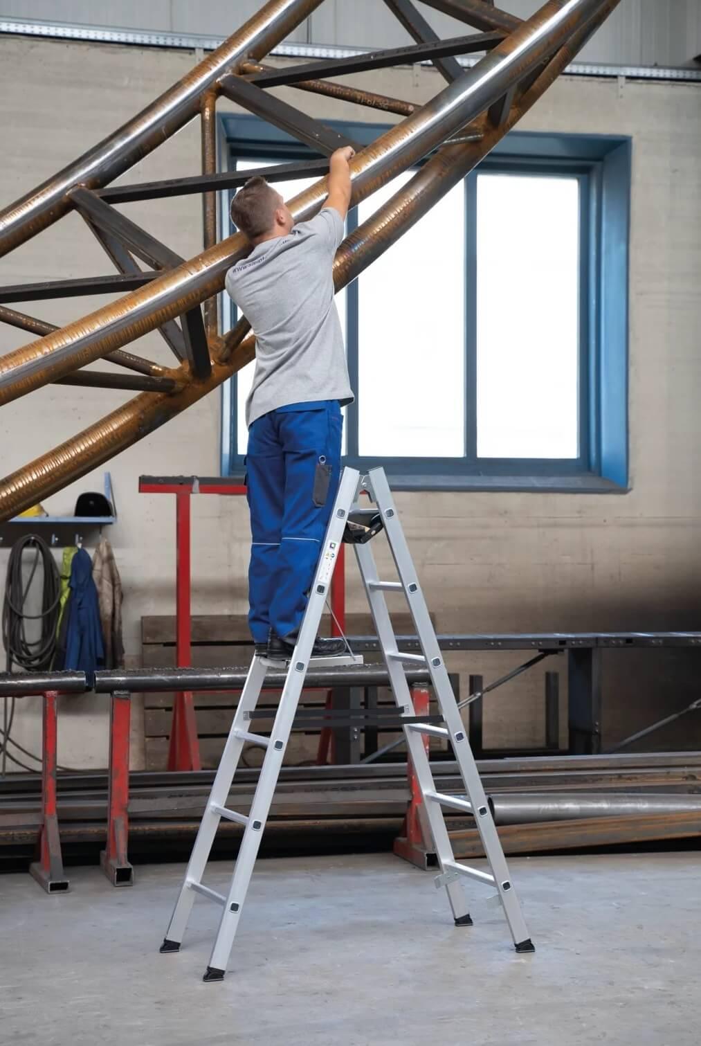 Dubbele ladder, artikelnummer 33012