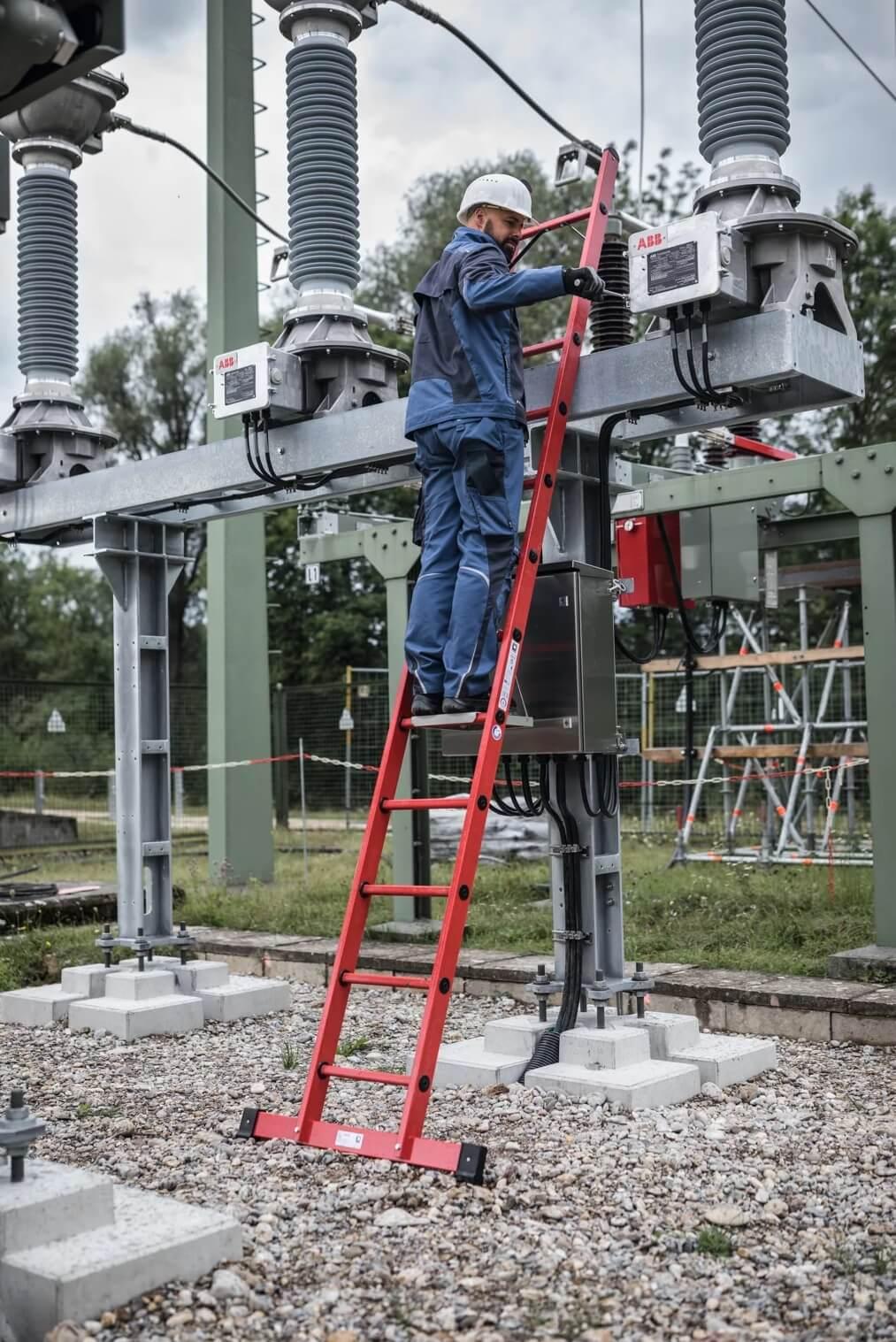 Kunststof ladder
