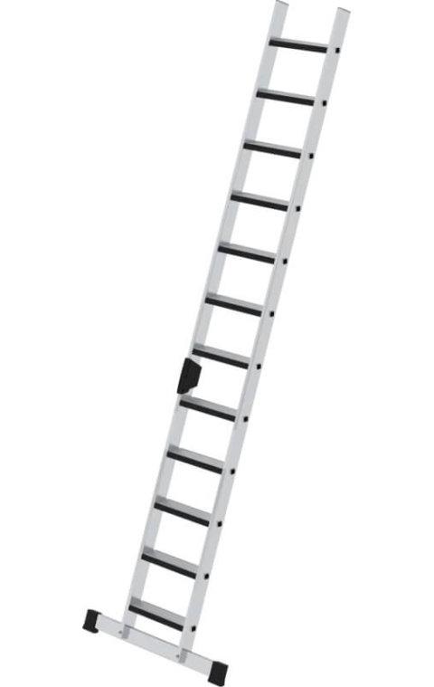 Aluminium enkele trap met stabilisatiebalk en relax step, 1x12, 40422