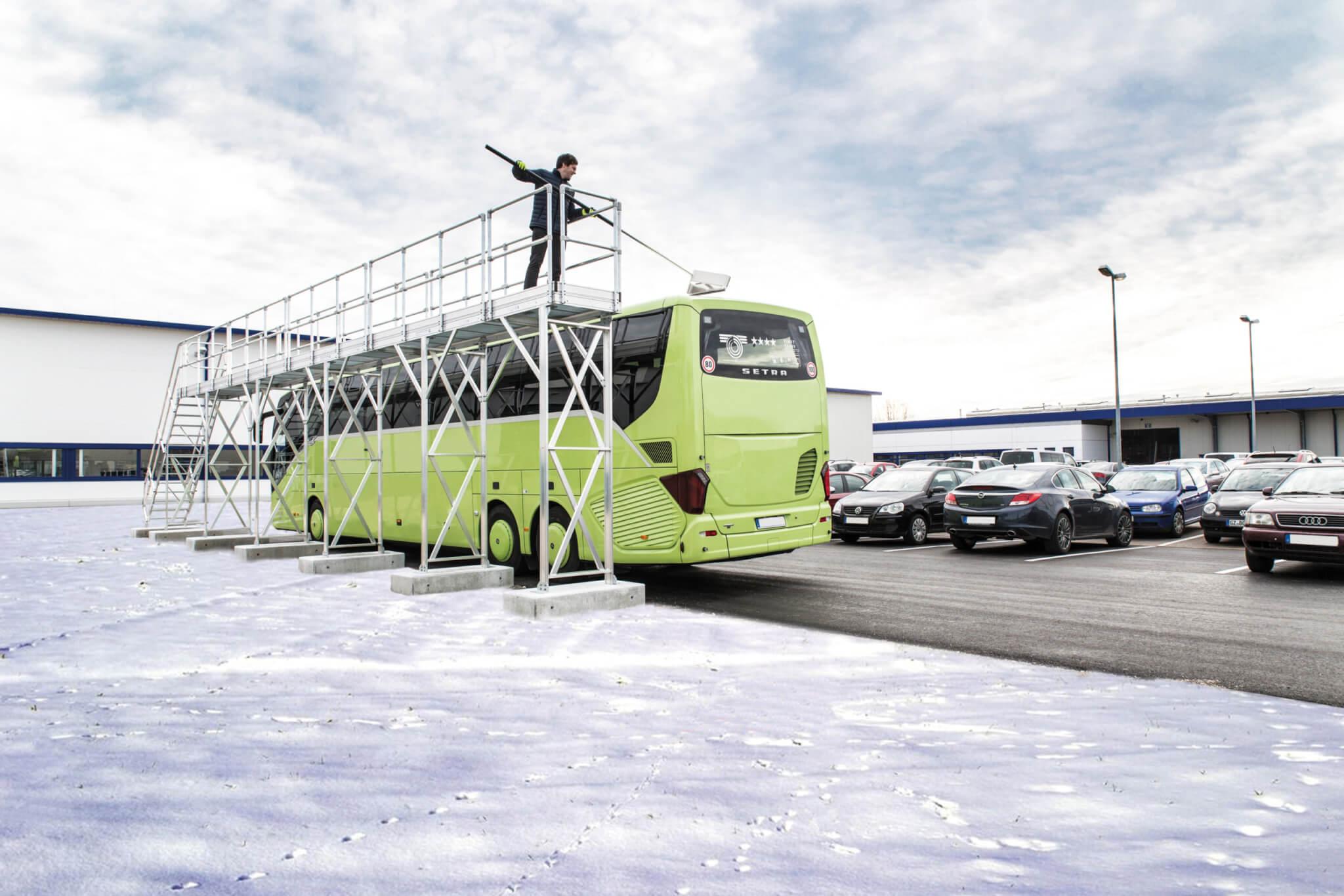IJsvrijbordes voor vrachtwagens en bussen