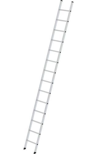 Aluminium enkele ladder, 1x14, 10014